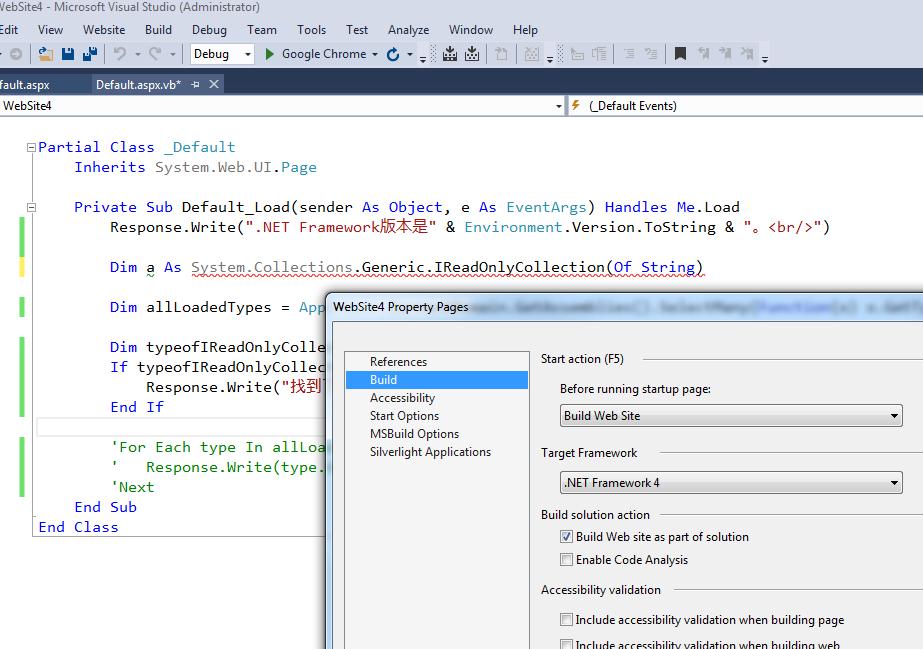 IReadOnlyCollection<>泛型接口是.net 4.5引入的,当然不能在4.0里使用